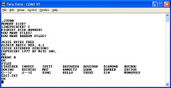 Screen Shot of Disk Basic
